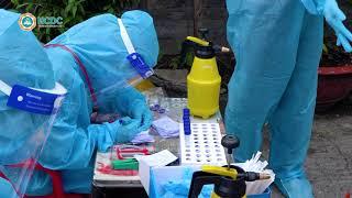 TP HCM tổ chức xét nghiệm mẫu gộp RT PCR tại vùng xanh, vùng vàng