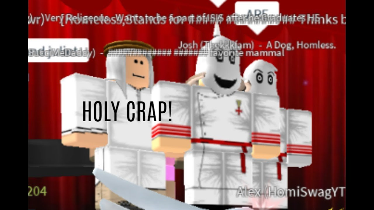THE KKK IN ROBLOX?! Roblox Trolling Online Young Daters ...