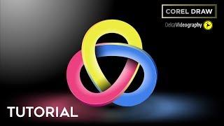 3D GEOMETRIC LOGO tutorial in Corel Draw | DelcaVideography