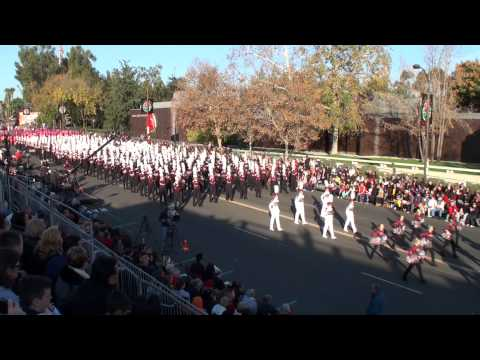 DobynsBennett HS Marching Indian Band  2014 Pasadena Rose Parade