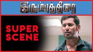 Irumbu Thirai - Super Scene 5   Vishal   Arjun Sarja   Samantha Akkineni