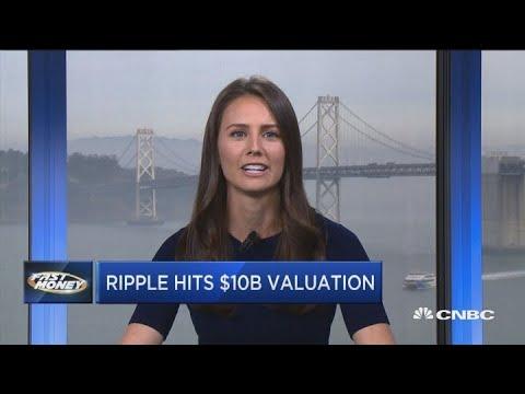 Crypto company Ripple valued at $10 billion in funding round