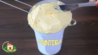 Manteiga Caseira Pronta em 15 Minutos