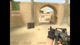 небольшая игра в Counter Strike: Source: 'с ботами'