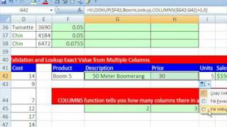 Highline Excel Class 07: Vlookup Function Formula 7 Examples