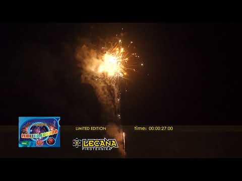 LIMITED EDITION 49 IZSTRELKOV - FIREWORKS MADE IN EUROPE !