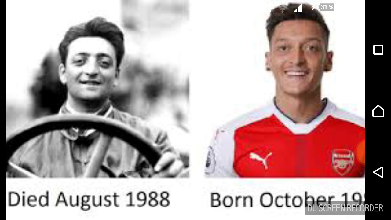 Mesut özil And Enzo Ferrari Read The Description Youtube