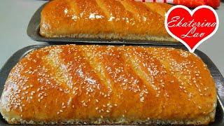 ХЛЕБ В ДУХОВКЕ с мягкой корочкой и нежным мякишем БЫСТРЫЙ рецепт Quick homemade bread