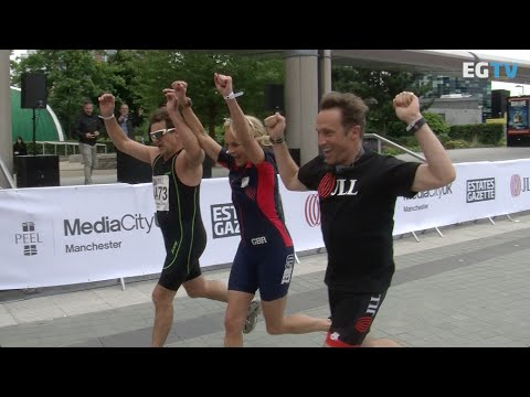 Seven hundred compete in first JLL Property Tri North