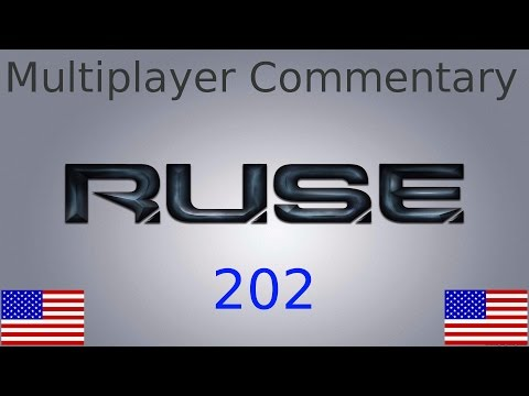 RUSE 4v4 on Treason - Quebec + Alcide - Multiplayer Commentary No. 202 (English)