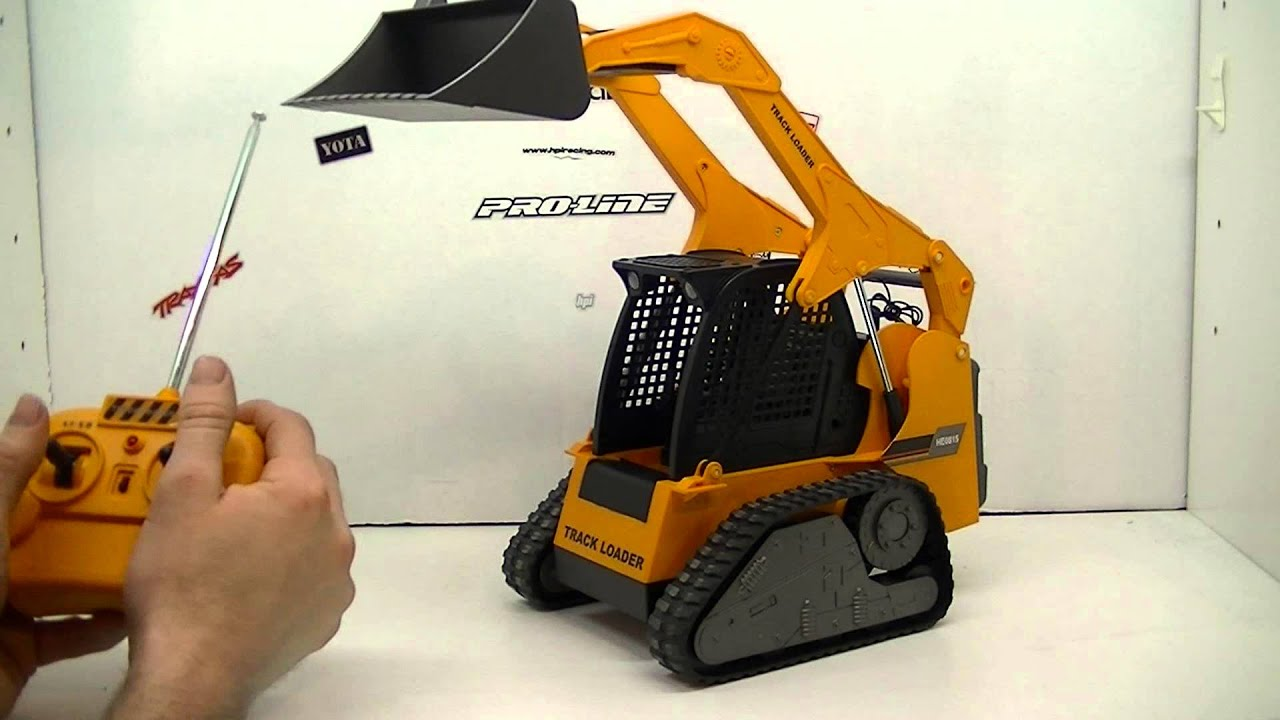 Rc84films Unboxing Rc Track Loader Youtube