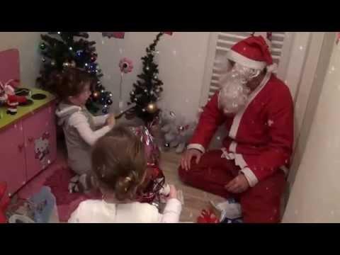 Deda Mraz kod Dunje i Anje Vasiljevic 2014/15 godina