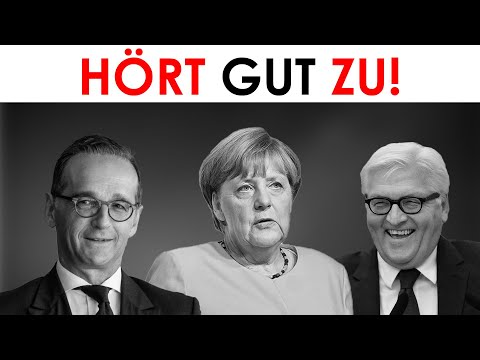 Für Merkel, Steinmeier, Maas & Medien: Große Geschichtstäuschung mit eindeutigen Beweisen!