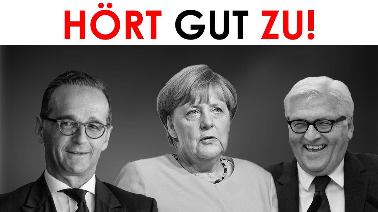 Silberjunge - Für Merkel, Steinmeier, Maas & Medien: Große Geschichtstäuschung mit eindeutigen B