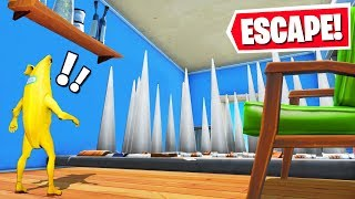 Fortnite ESCAPE from a GIANT ROOM Challenge (99 Impossible)