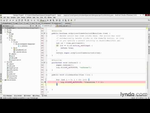 How to debug in Android studio