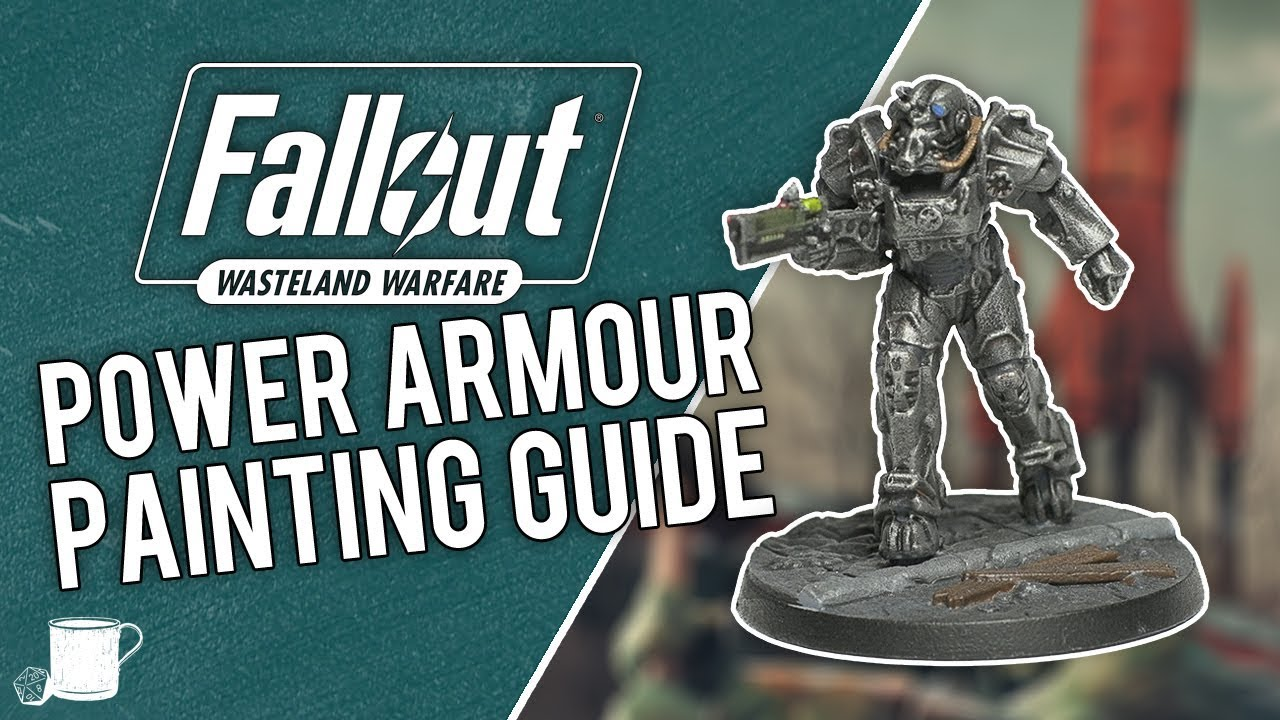 T-60 Power Armour Painting Tutorial from Fallout Wasteland Warfare