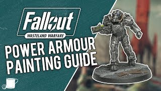 Painting T-60 Power Armour From Fallout Wasteland Warfare // Tabletop Hub