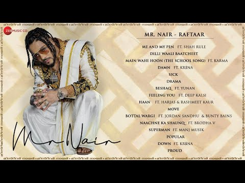 Mr. Nair - Audio Jukebox | RAFTAAR