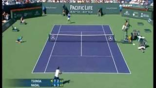 Rafael Nadal vs Tsonga Indian Wells 2008