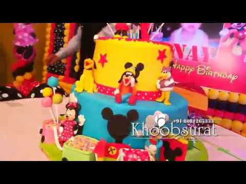 Mickey Mouse theme anay birthday