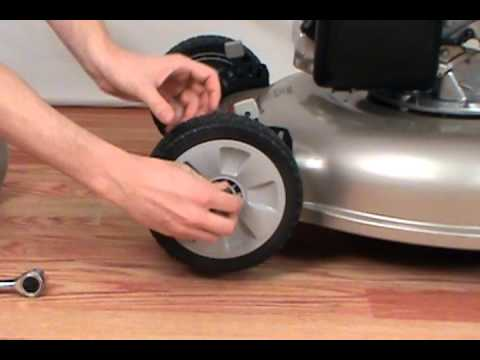 Replacing The Wheel Honda Lawn Mower