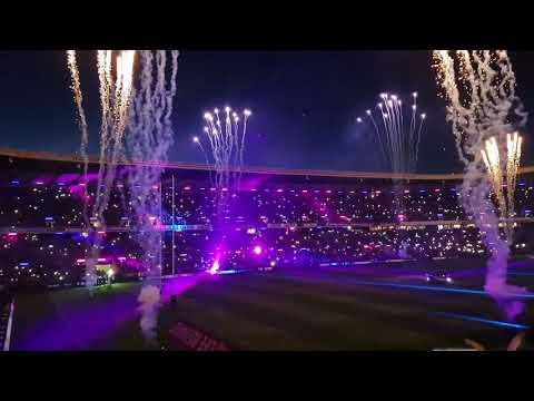 Bt murrayfield Scotland v all blacks lights out