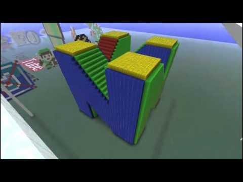 Minecraft Creations Nintendo 64 Symbol Youtube