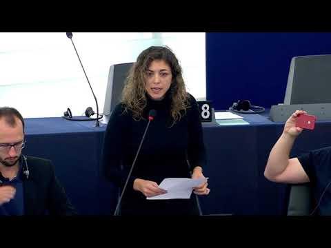 Tania González denuncia los planes de ALCOA para cerrar sus fábricas en España