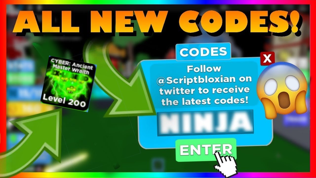 [30 CODES!]ALL *30* NEW WORKING CODES IN ⚡Ninja Legends ...