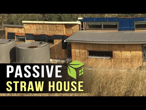 Stunning Straw Bale Home | Low Energy Passive House