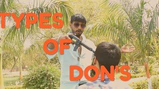 Types of don funny video Akash hemana