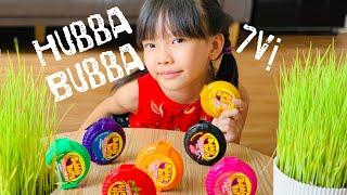 Hubba Bubba | Nào mình cùng thử các vị bubba rolls nhé