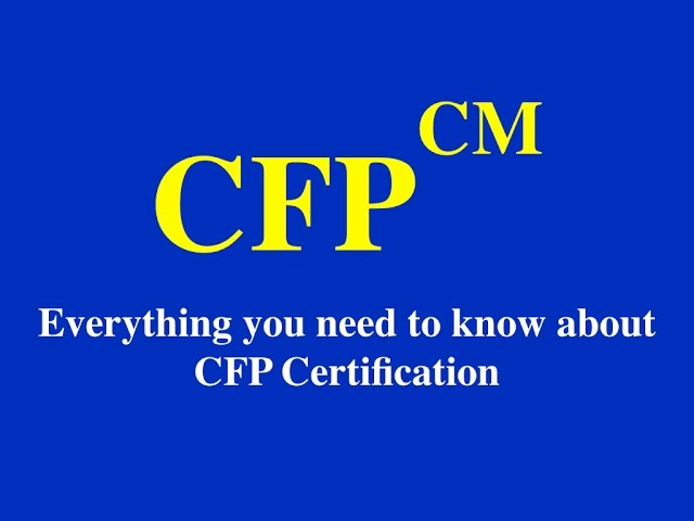 Everything you need to know about CFP Program!