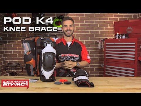 Pod K4 Motocross Knee Brace