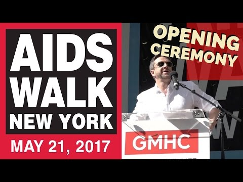 AIDS Walk NYC 2017 Opening Ceremony