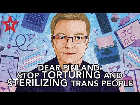 Finland will keep sterilizing young trans people like Sakris after it rejects law reform