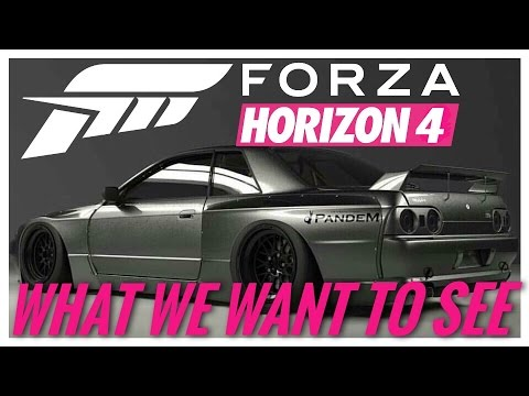 forza horizon 4 2018 what we want to see wishlist youtube. Black Bedroom Furniture Sets. Home Design Ideas