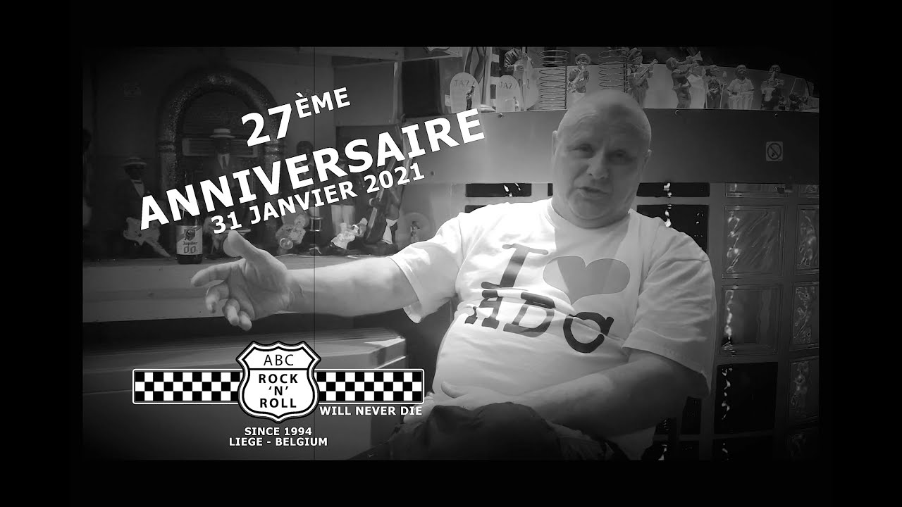 27 ans de l'ABC ROCK N ROLL en vidéo