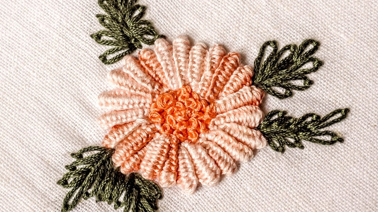 Hand embroidery designs double cast on stitch