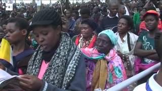 Informe a cámara. El papa homenajea a los mártires de Uganda