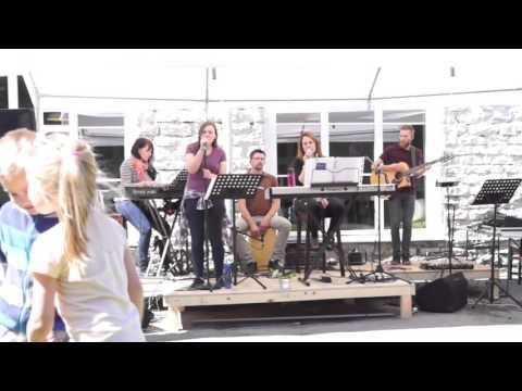 """Focus Church Band performing """"Elastic Heart"""" by Sia @Kalamaja, Tallinn, Estonia"""