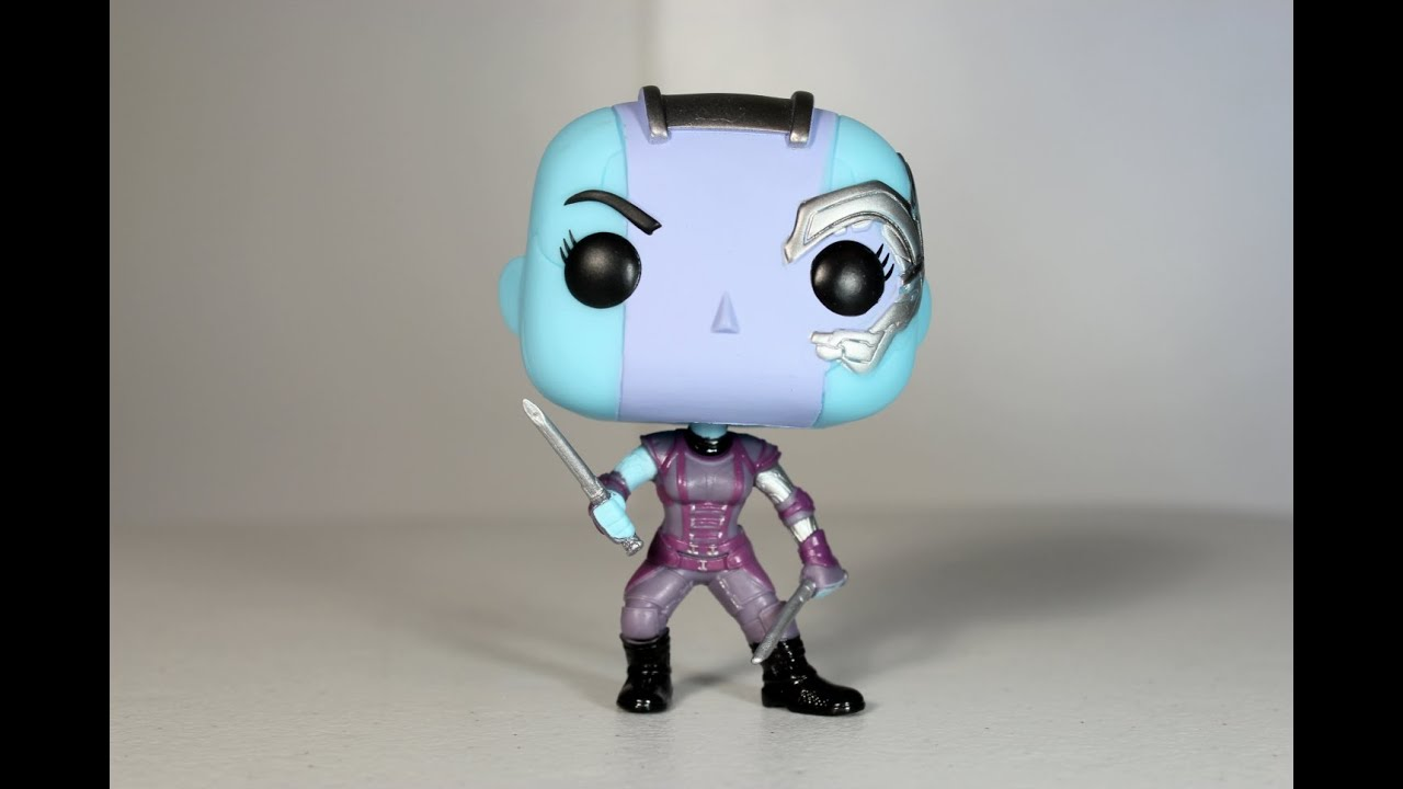 Nebula Guardians Of The Galaxy Funko Pop Review Youtube