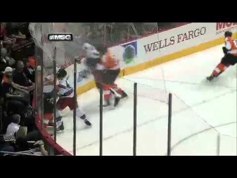 Philadelphia Flyers' Tom Sestito Suspended 2 Games