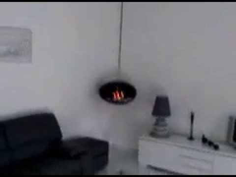 Cheminee bio ethanol suspendue cocoon fires youtube - Cheminee a l ethanol ...
