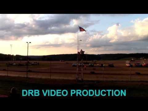 Marion Center Speedway 8/12/17 Street Stock Heat