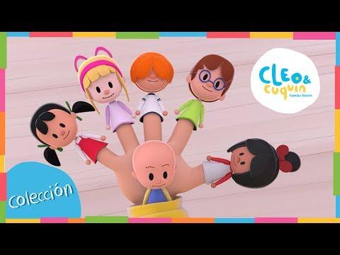 FAMILIA DEDO y más Canciones. Cleo & Cuquín I Familia Telerín. Canciones Infantiles (30 minutos) thumbnail