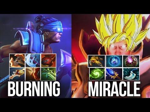 Miracle- Invoker vs. BurNIng AM | Battle of LEGENDS | Dota 2