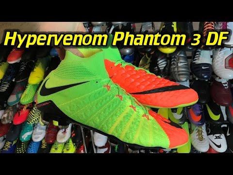 3035acc91 Nike Hypervenom Phantom 3 DF (Radiation Flare Pack) - One Take Review + On