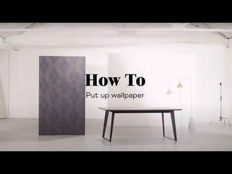 Video: MADE.COM – How To Put Up Wallpaper